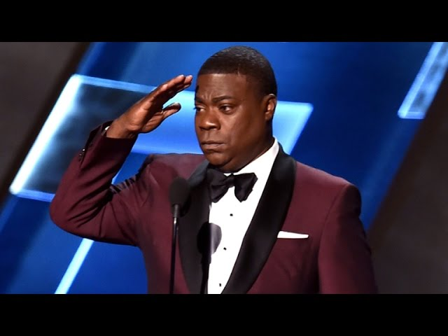 Tracy Morgan Takes Emmys Stage in Surprise, Emotional Appearance