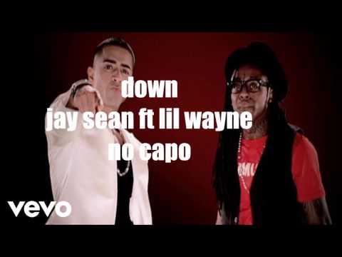 down jay sean lyrics and chords