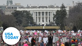 Reverend Al Sharpton and Martin Luther King III lead March on Washington 2020 | USA TODAY