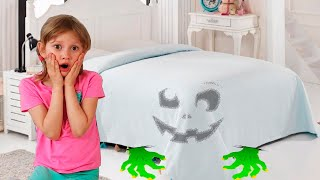 Alena Pasha and monster under the bed