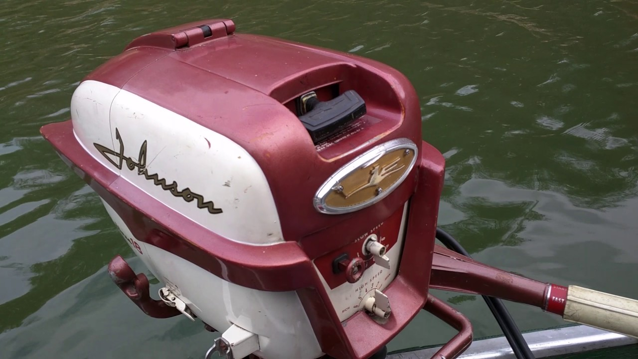 1958 johnson 18 hp fd 12 youtube rh youtube com 1957 Johnson 10 HP Outboard 1957 Johnson 18 HP Outboard
