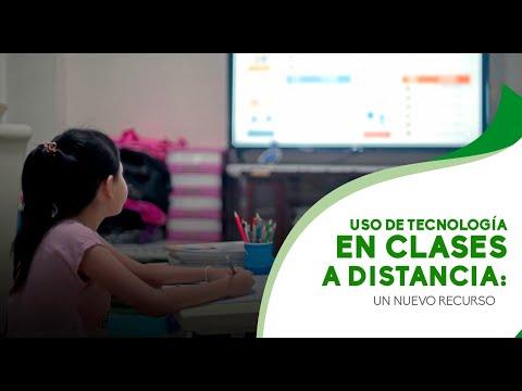 Uso de tecnología en clases a distancia: un nuevo recurso