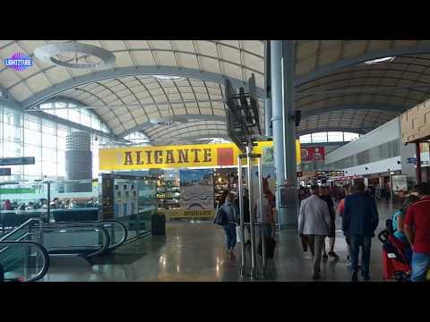 Alicante–Elche Airport, Spain