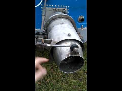Казанка 2М с самодельным водометом.