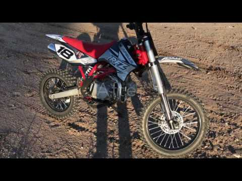 Apollo db-x18 125cc pit-bike assembly video