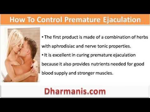 How do i control my ejaculation