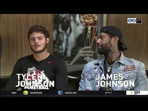October 21, 2017 - FSS - Miami Heat: The Brothers Johnson (Tyler & James Johnson Friendship)