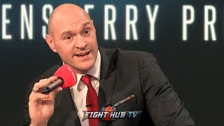 TYSON FURY CONTINUES TO CLOWN DEONTAY WILDER