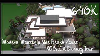 bloxburg mountain modern side roblox beach