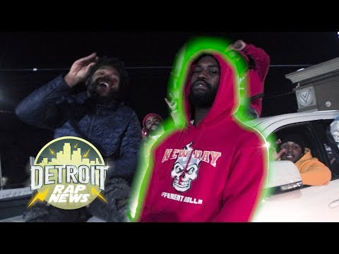 "Mar Lu – ""New Glocky"" DetroitRapNews Exclusive (Official Video)"