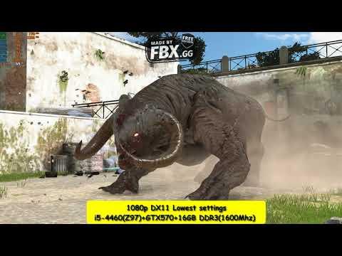 Serious Sam 4 - FPS Benchmark (1080p+Lowest+i5-4460+GTX570) |