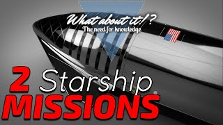 SpaceX Starship Updates - 2 Missions - Starlink Tripled - James Webb Assembled