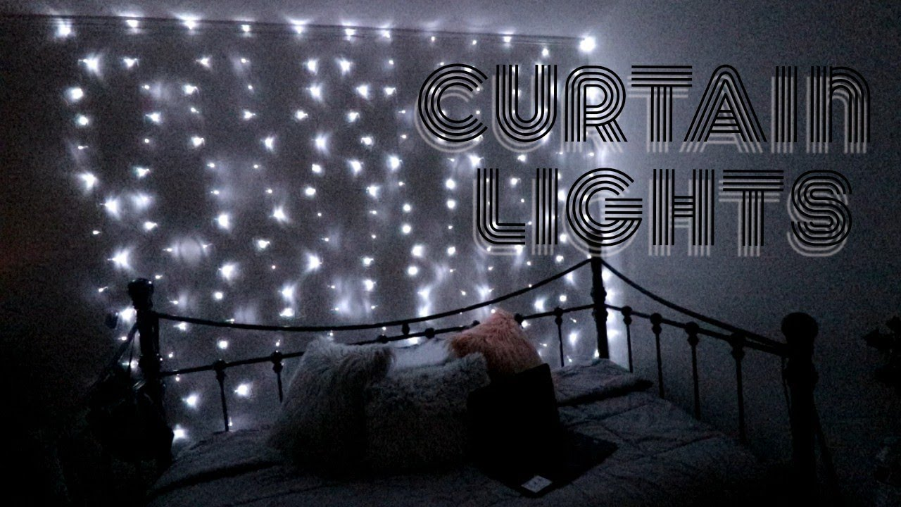 easy way to hang curtain lights plautdietsch channel