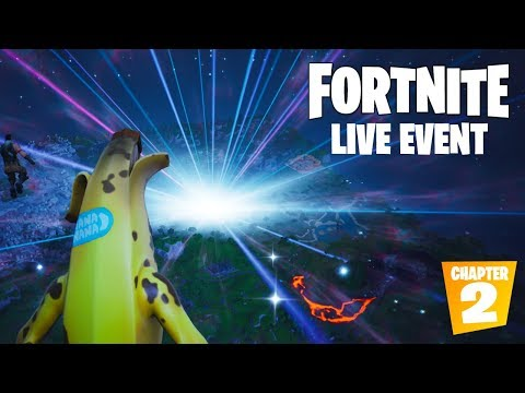 "FORTNITE SEASON 10 LIVE EVENT ""THE END"" OFFICIAL VIDEO (CHAPTER 2)"