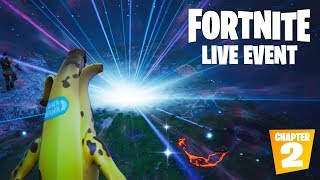 "FORTNITE SEASON 10 LIVE EVENT ""THE END"" OFFICIAL VIDEO (CHAPTER 2) thumbnail"