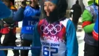 Вита Семеренко получила медаль за спринтерскую гонку
