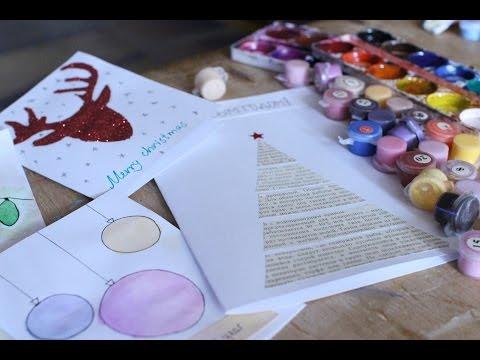 DIY | Идеи открыток на НОВЫЙ ГОД ❄️