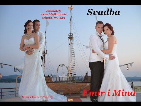 Svadba Emir i Mina Muz-Nihad Kantić (Šike)Hot-Robinzon-Lukavac Asim Snimatelj-061/179-449.