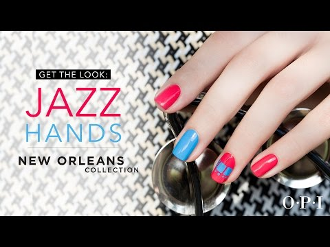 Un nail art Nouvelle-Orléans avec OPI