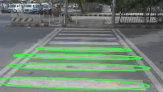 Pedestrian Crosswalk and staircase detection