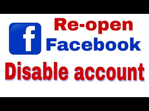 How to re-open disable facebook id. band facebook id kaise khole|| How to unblock facebook id, hindi