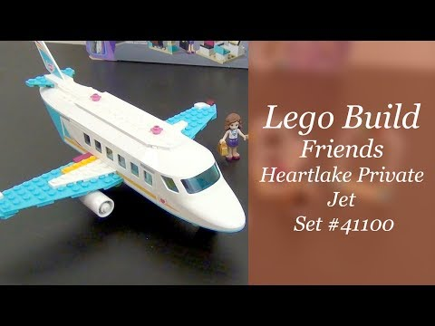 Let's Build - LEGO Friends Heartlake Private Jet Set #41100