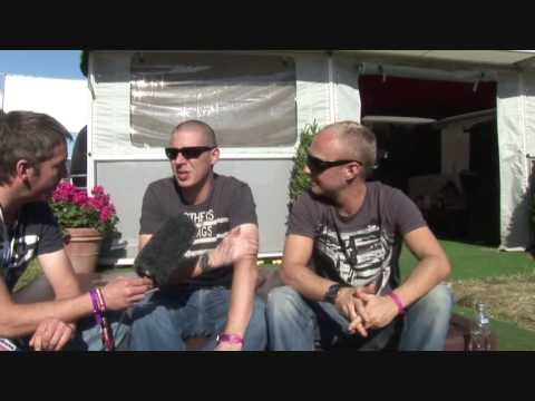 The Shapeshifters Interview (Global Gathering 2009) | SPG