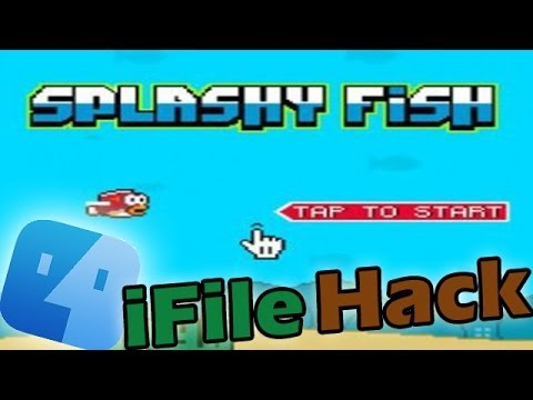 NEW Splashy Fish Hack /w Tutorial (iFile Jailbreak) - IPhone/iPad!!