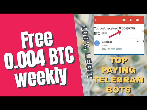 TOP 5 PAYING TELEGRAM BOTS IN 2020 (WITHDRAWAL PROOFS)