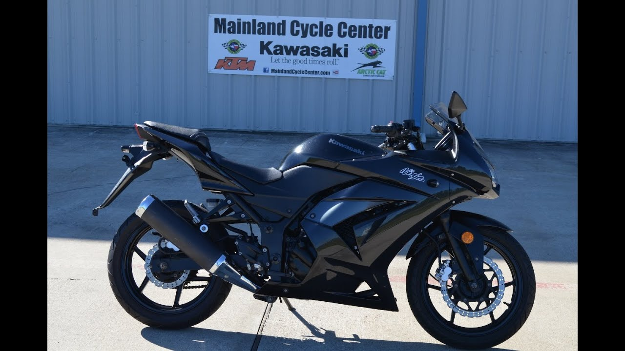 2012 Kawasaki Ninja 250 Black Sold