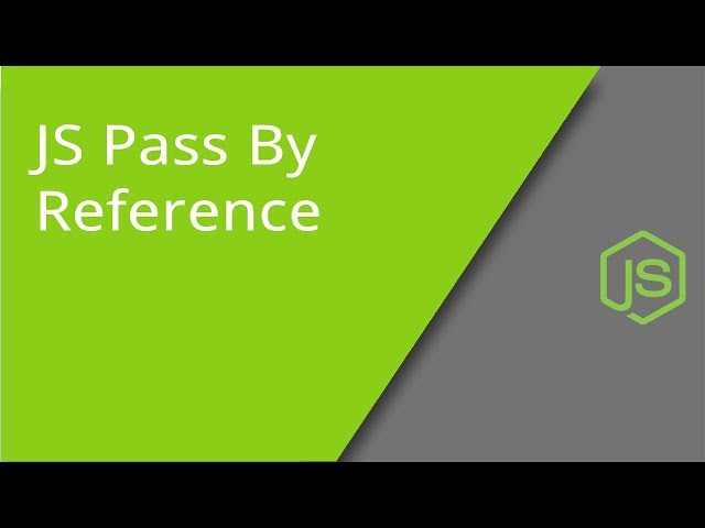 What Does Pass By Reference Mean in JS
