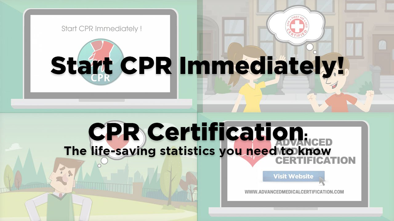 Cpr Certification Start Cpr Immediately Youtube