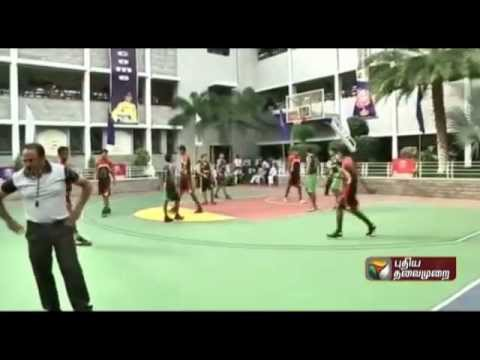 Inter-school South Zone basketball tournament in Coimbatore