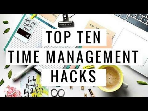 10 Hacks For Time Management