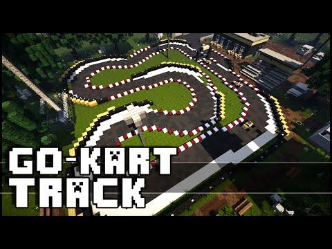Minecraft - Go-Kart Track!