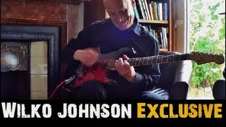 EXCLUSIVE: Wilko Johnson Guitar Lesson and Interview