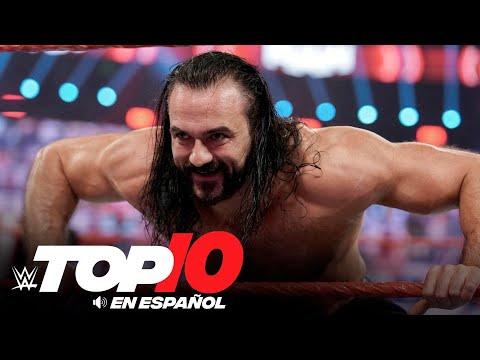Top 10 Mejores Momentos de Raw En Español: WWE Top 10, Oct 12, 2020