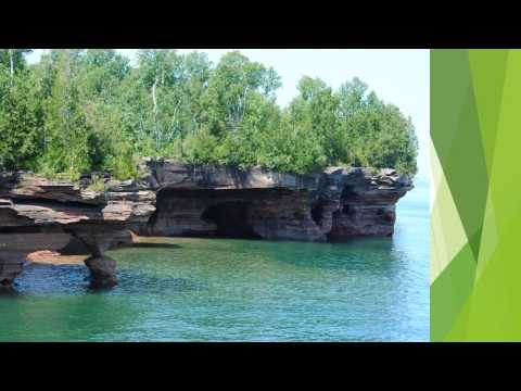 A Visit to the Apostle Islands   Video