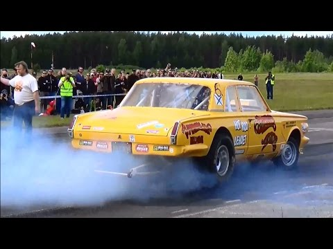 Räyskälä Vintage Drag Racing 2015