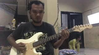 Classic Blues rock - senam jari gitar pemula - blues lick