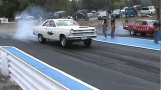 427 Fairlane And Agitator Mopar Spinnin' The Slicks At Central Illinois Dragway!!!