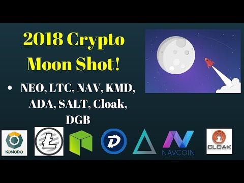2018 Crypto Spring (Neo, OmiseGo, CLOAK, Komodo, Cardano, Ripple, Digibyte, SALT, NAV, UBiQ)