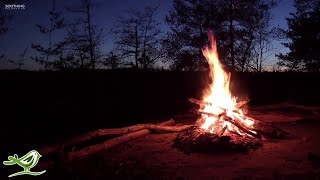 Relaxing Music & Campfire - Relaxing Guitar Music, Soothing Music, Calm Music