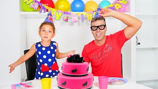 Like Norina are preparing a Surprise for Dad's birthday