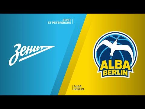 Zenit St Petersburg - ALBA Berlin Highlights | Turkish Airlines EuroLeague, RS Round 27