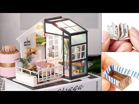 DIY Miniature Dollhouse Kit || Balcony Daydreaming ( ROLIFEOFFICIAL)