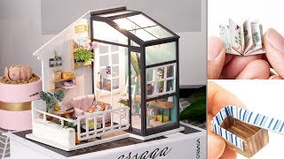 DIY Miniature Dollhouse Kit || Balcony Daydreaming ( ROLIFEOFFICIAL)