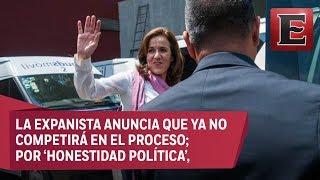 ÚLTIMA HORA: Margarita Zavala renuncia a la candidatura presidencial