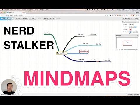 mindmaps a free web based mindmapping application demo tutorial - Web Based Mind Mapping Free