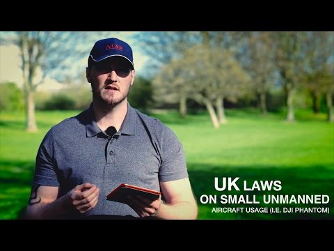 Drone/UAV Laws & Rules in the UK